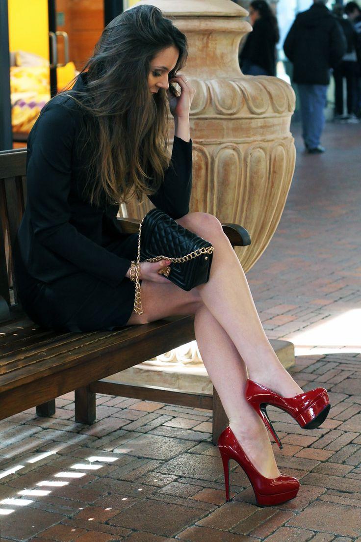 Chanel Scarpe Rosse
