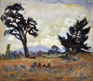 horace trenerry paintings | Prices and estimates of works Horace Hurtle Trenerry