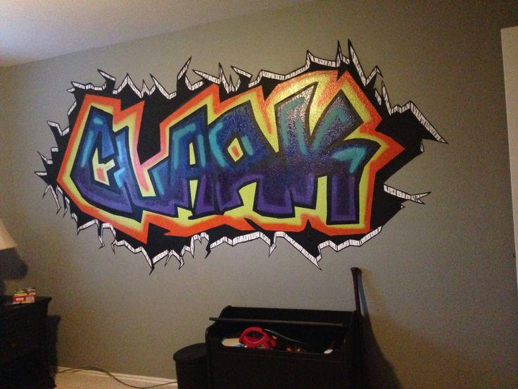 Graffiti Name For Boys Room Clark James In 2019 Graffiti Names Graffiti Graffiti Letters