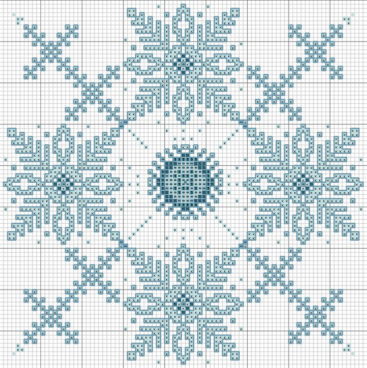 End of Winter Snowflake