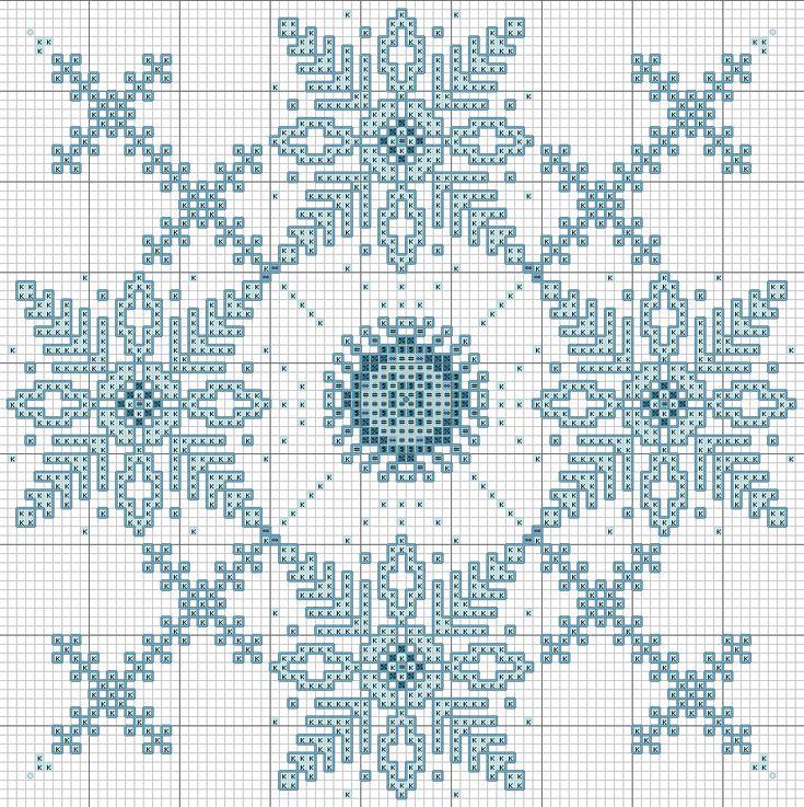 Freebie ~ End of Winter Snowflake