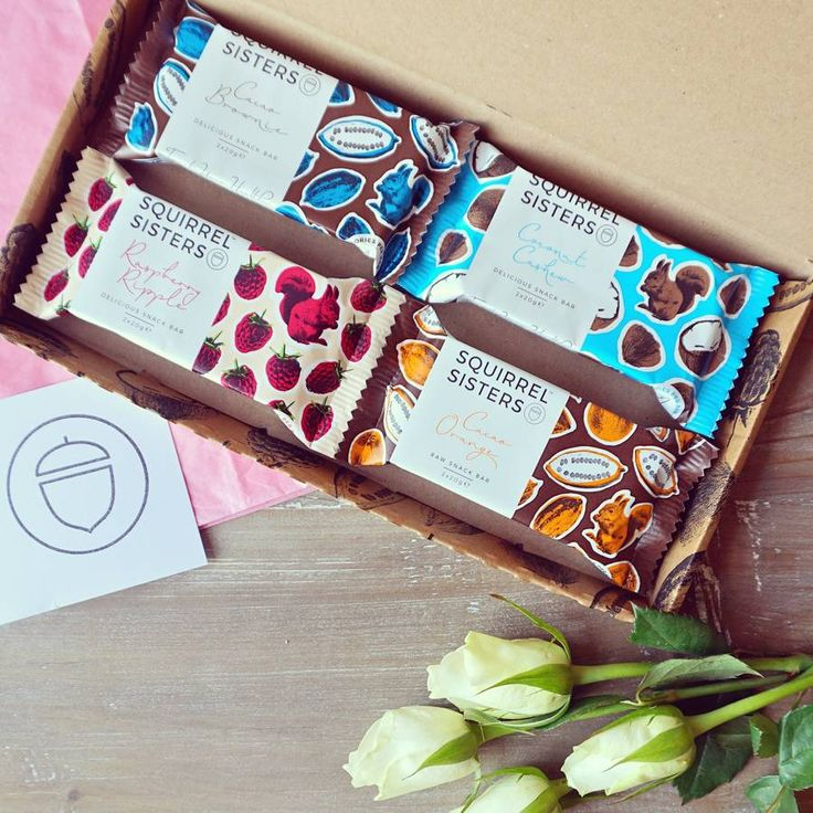 Squirrel Sisters Raw Food gift box