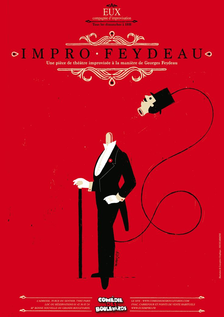 Impro feydeau on Behance