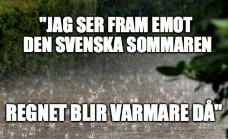Åh, svenska sommaren. <3