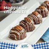 Hongos de chocolate, deliciosos!!!  #Huevo #HuevoSanJuan #Receta #Postre