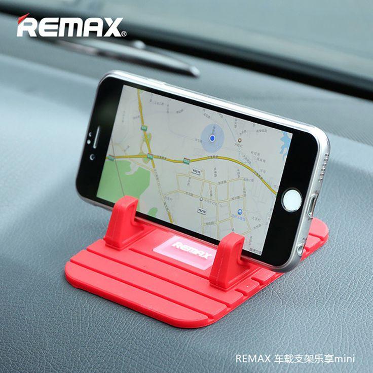 Soft Silicone Mobile Phone Holder Car Dashboard GPS Anti Slip Mat Desktop Stand Bracket for iPhone 5s 6 Samsung Tablet GPS Remax