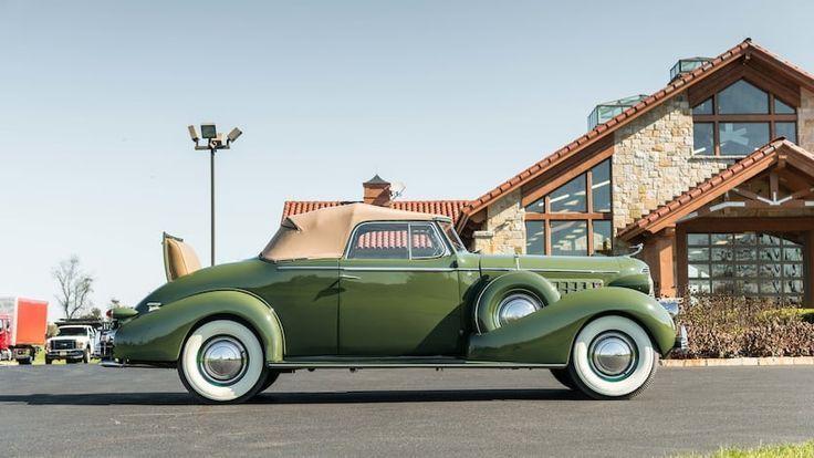 1936 Cadillac Series 70 Fleetwood Cabrio Coupé – 2