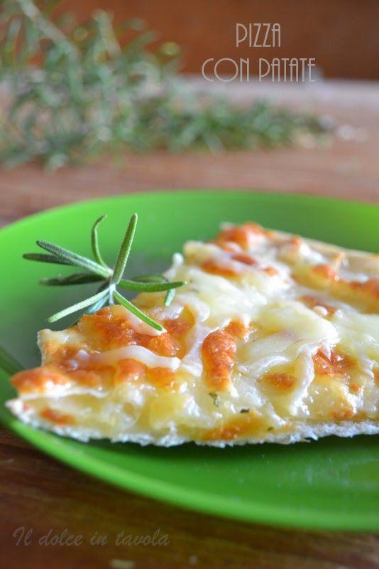 Il dolce in tavola: Pizza con patate