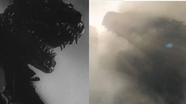 #Godzilla 2014 Trailer Vs 1954 #Gojira Footage