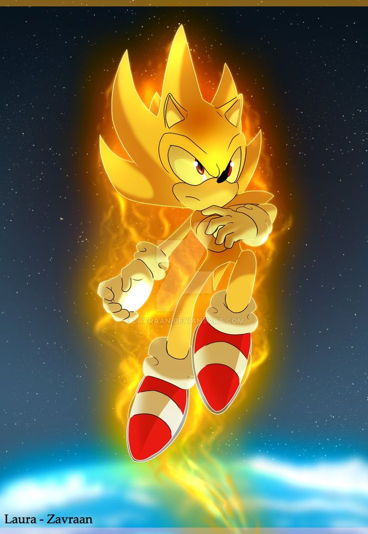 17 best ideas about sonic the hedgehog on pinterest the - Super sonic 6 ...