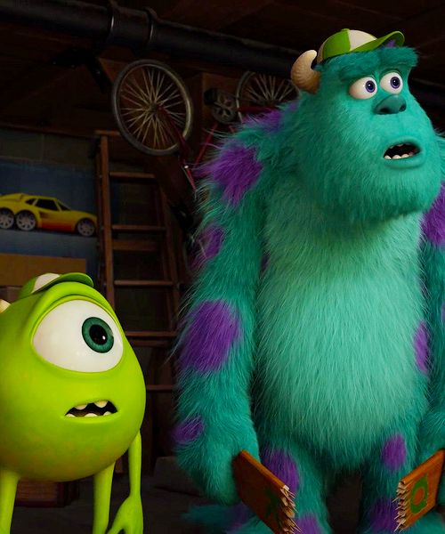 Monster University ☆ Mike and Sully