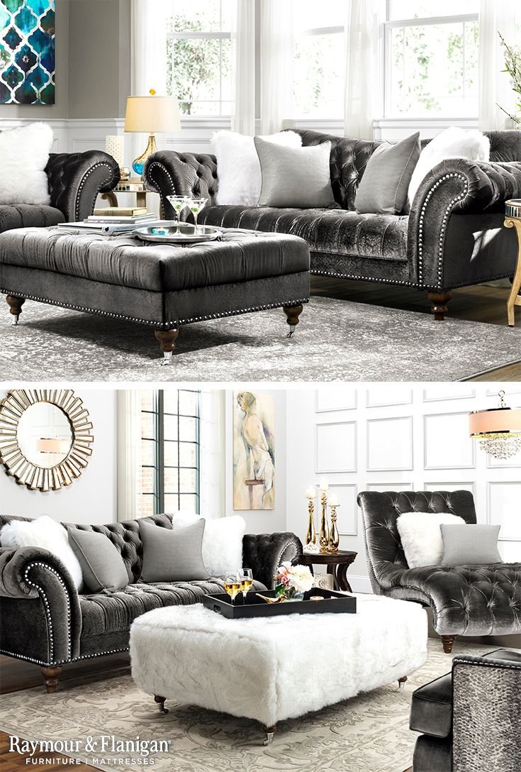 Raymour and flanigan living room ideas - Visit A Raymour Flanigan Furniture Store Or Go To To See Learn How To Decorate Around The Duchess Traditional Living Collection