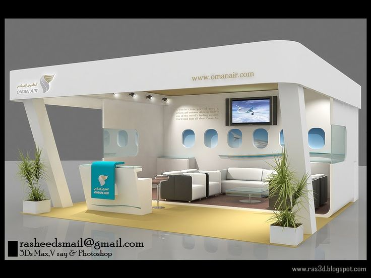 Exhibition Stand Builders Oman : Oman air stand g  exhibition design