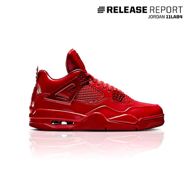 This all-red Jordan 11Lab4 is a combination of the Retro 11 and Retro 4. Get it now.