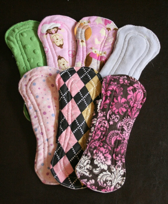 Diy Cloth Pads Tutorial: 252 Best Images About DIY Cloth Menstrual Pads On Pinterest