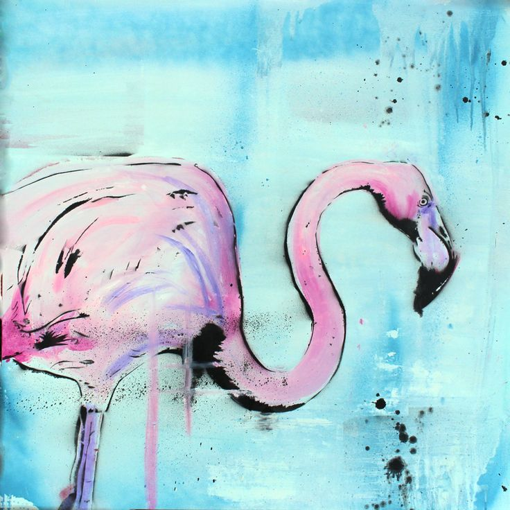 It's a Flamingo! Canvas