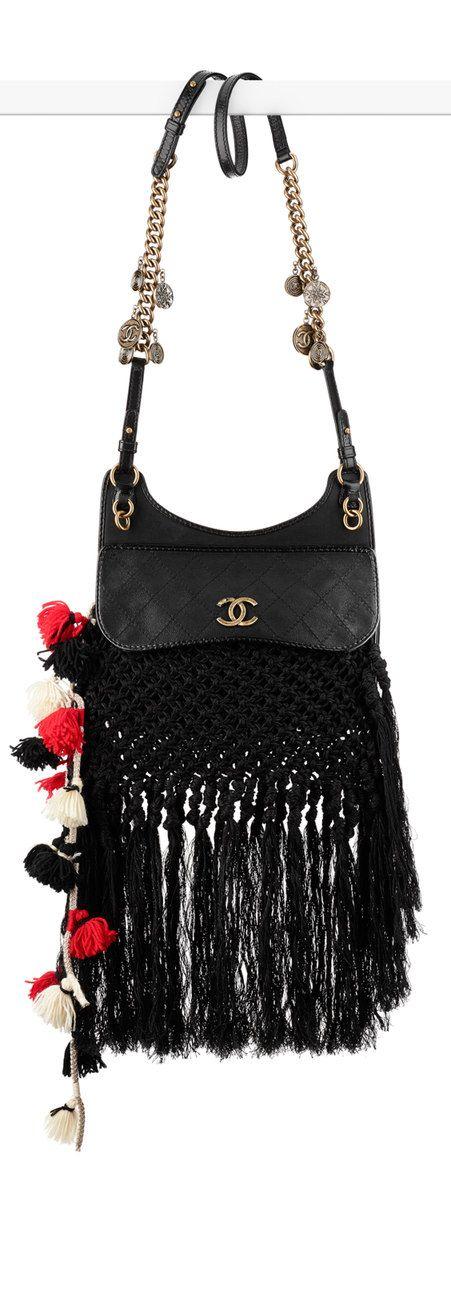 LOVE, LOVE, LOVE . . . CHANEL Spring 2015 Iridescent calfskin and braided messenger bag