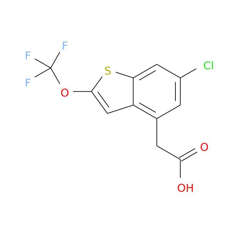 6-CHLORO-2-(TRIFLUOROMETHOXY)BENZOTHIOPHENE-4-ACETIC ACID is now  available at ACC Corporation