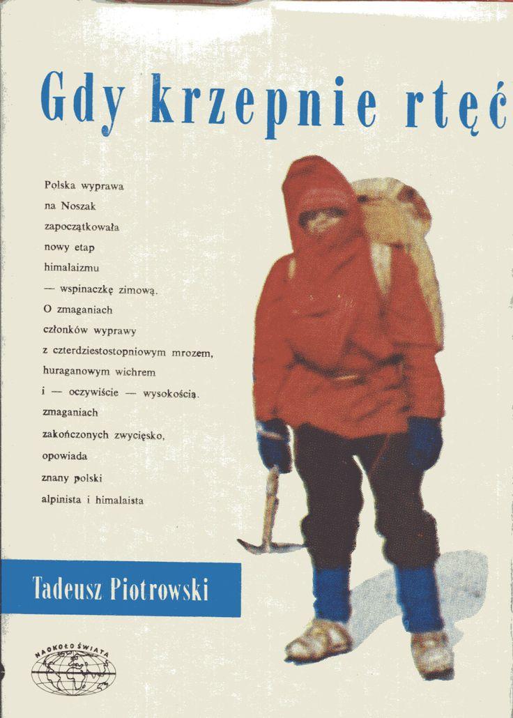 """""""Gdy krzepnie rtęć"""" Tadeusz Piotrowski Cover by Jerzy Malarski Book series Naokoło świata Published by Wydawnictwo Iskry 1982"""