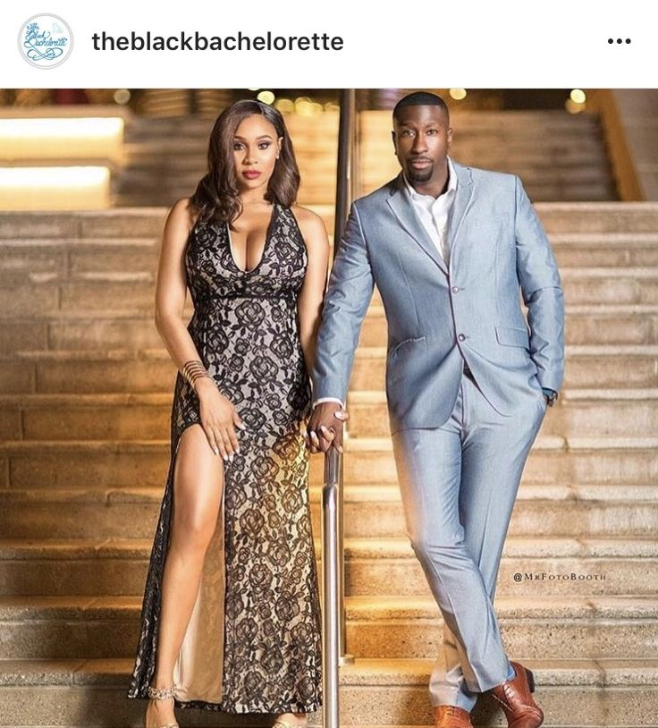 Powerful Glamorous Black Couple