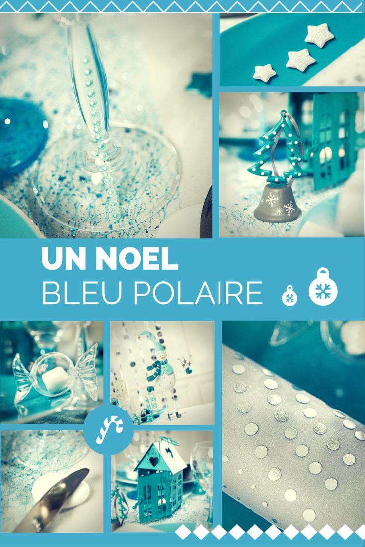 Voici une nouvelle ambiance très tendance pour Noël 2014 ! Découvrez notre déclinaison de décoration de table couleur Bleu polaire et blanc ... une touche de douceur et d'originalité !  Nos photophores et centres de tables raviront petits et grands !