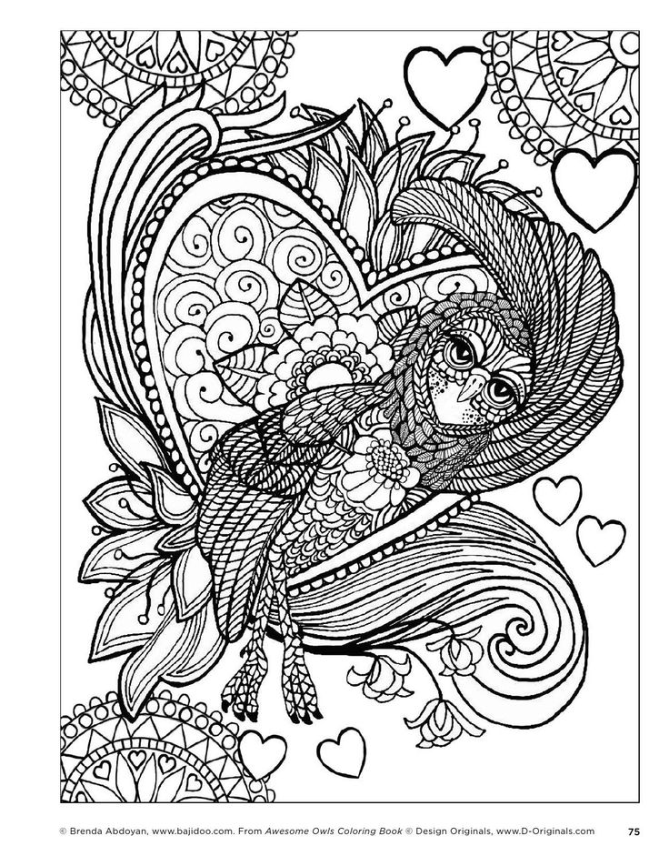 Leahs Farm Coloring Book : 604 best zentangle coloring pages images on pinterest