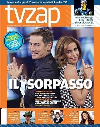 L'esperienza di TvZap.it, uno dei siti più popolari del mondo della televisione, si arricchisce con questo settimanale, dal 20 gennaio in edicola con il vostro quotidiano