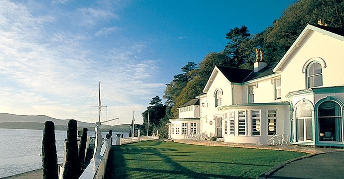 Port Meirion Hotel.