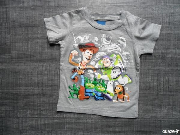 Tee shirt Toy story - Tee shirt Toy story