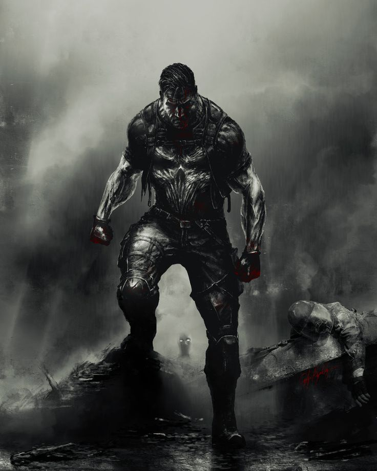 Punisher, Çağlayan Kaya Göksoy on ArtStation at https://www.artstation.com/artwork/xqe52