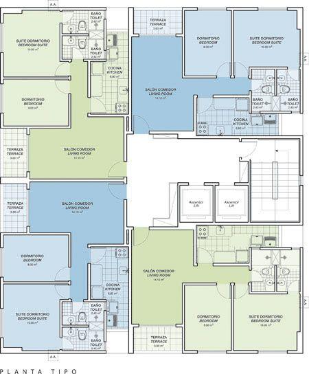 Planos de vivienda de 57m2 planos de viviendas peque as for Planos casas pequenas