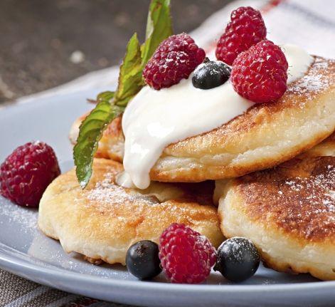 Оригинальные сырники от Олега Ильина - очень быстрый и вкусный завтрак.