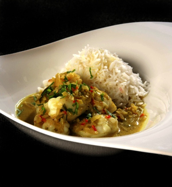 Monkfish and Coconut Curry - Every tried a fish curry? If the answer is no make our Monkfish and Coconut Curry your first! - http://www.fishisthedish.co.uk/recipes/975-monkfish-and-coconut-curry