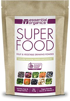 Essential Organics Australia SUPERFOOD!  Keep an eye out for our new packaging and expanding range!