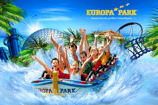 Europa Park, too bad I don't know where the actual pictures I kept went from here!  It was sooo cold (cuz it was December), but it was really fun!