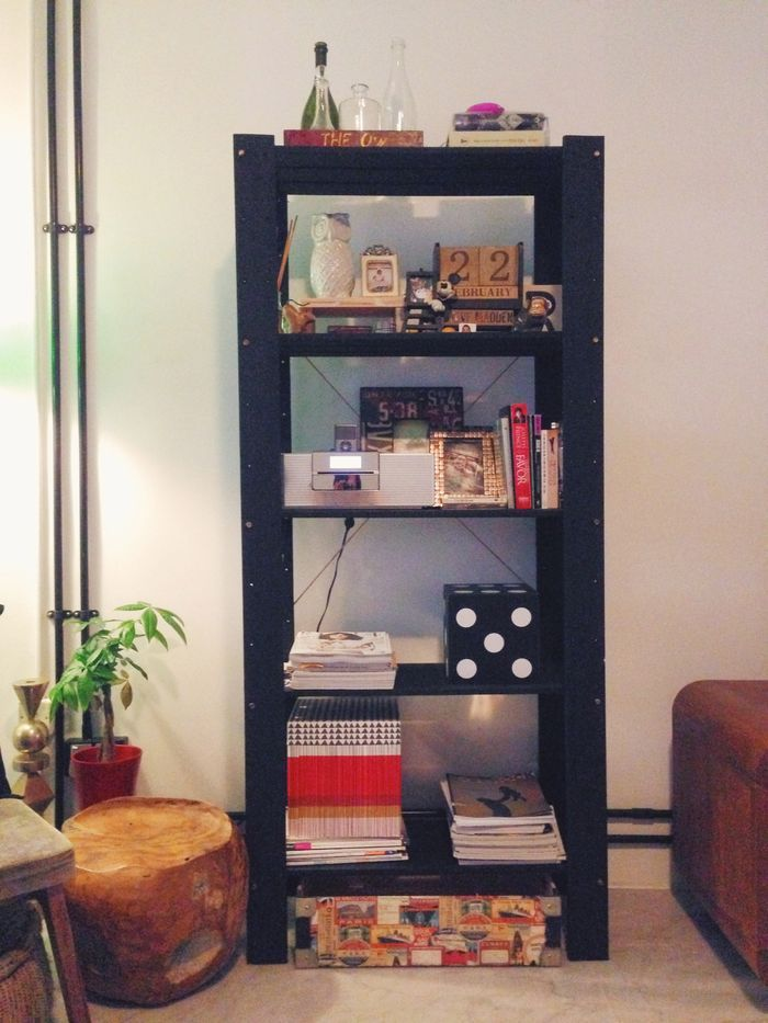 GORM SHELVING UNIT - AN IKEA HACK!