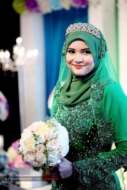 Love, Lovely & Lovelies: Wedding Review #3: Baju Pengantin Emerald Green