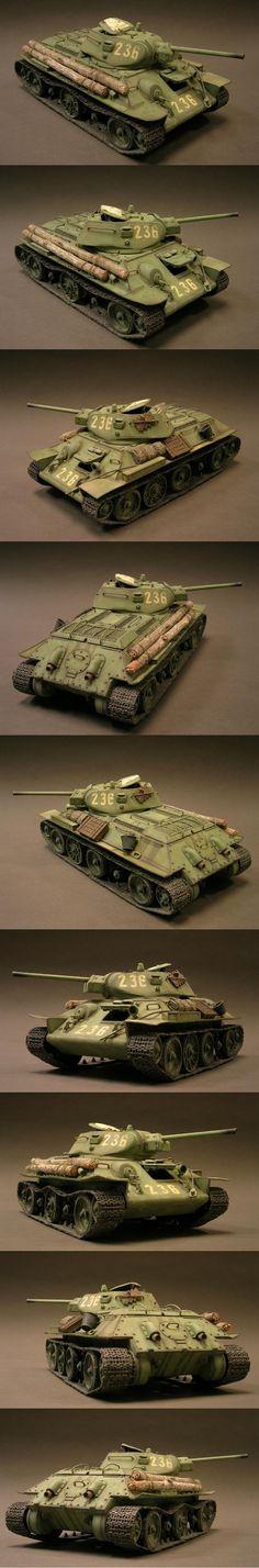 T34/76 1/35 Scale Model