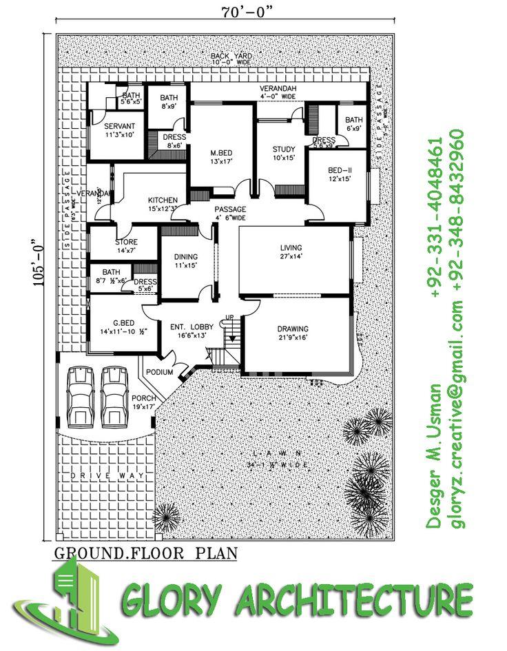 94 modern house floor plans in pakistan pakistan modern for Pakistan house designs floor plans