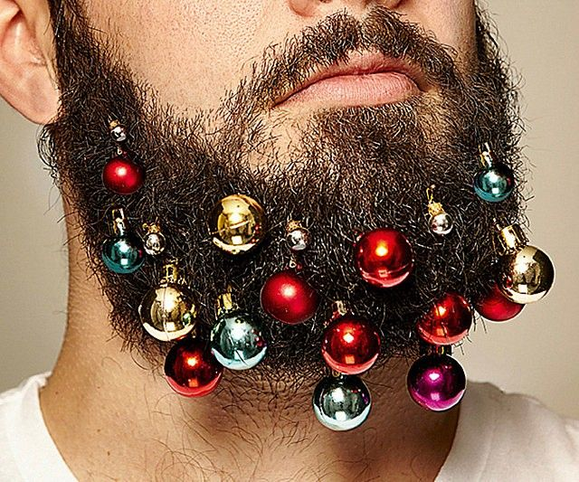 Get into the holiday spirit by decking out your fuzzy panty dropper with these eye-catching beard ornaments. Your beard will look fabulous and you'll feel good knowing that the proceeds of each sale go towards the fight against Melanoma.