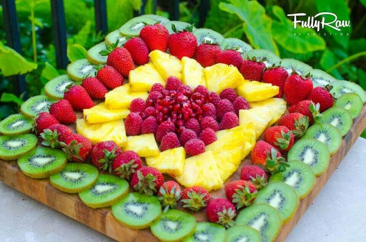 Fruit serving idea