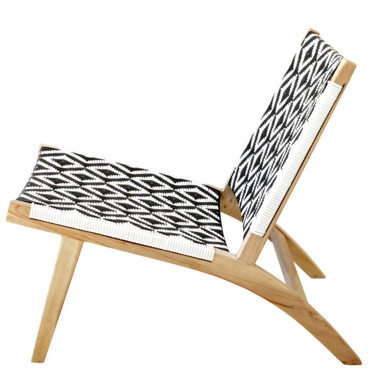 Ashanti Chair – Black and White