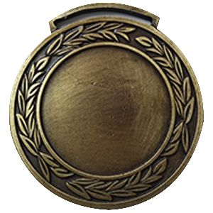 Medalla super especial ref Pasacinta de 58 mm de diámetro