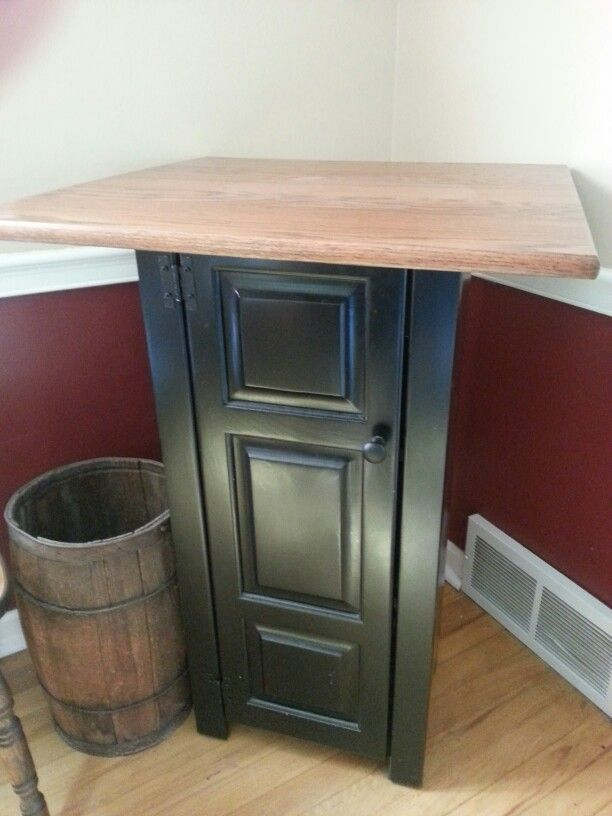 I Had This Tabletop And Mr Miller Refinished It U0026 Made The Cabinet To Go  Under. Cabinets To GoAmish FurnitureThe ...