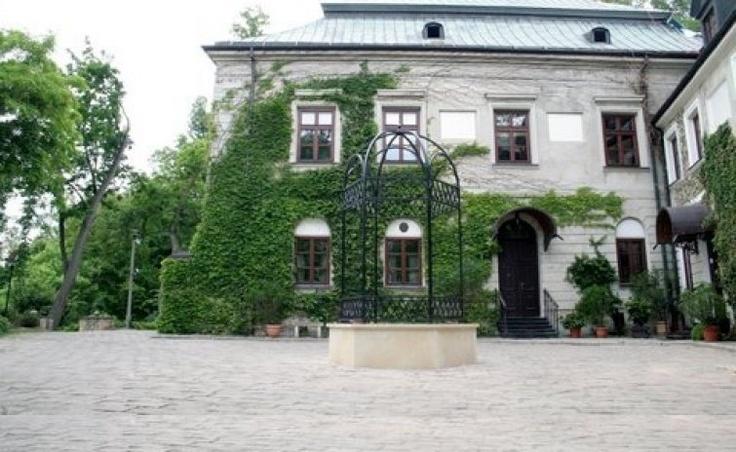 Studnia znajdująca się na wzgórzu zamkowym powstała za czasów Dobiesława Odrowąża-Chlewickiego w II połowie XV wieku (pomiędzy 1460-1490) wraz z wzniesieniem głównego murowanego budynku o kształcie dworu wieżowego, który to z kolei postawiony został na wczesnośredniowiecznym grodzisku z XII wieku.
