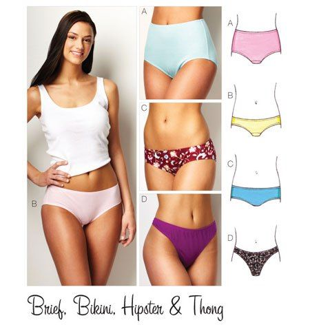 Great underwear sewing patterns for big booties | Curvy Sewing Collective