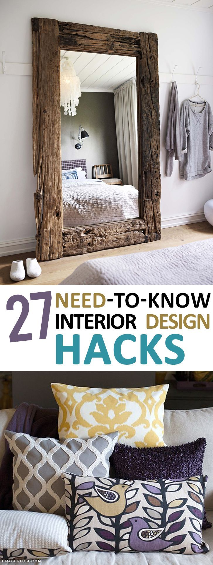 188 best interiors how to 39 s images on pinterest - Home interior designs hacks ...