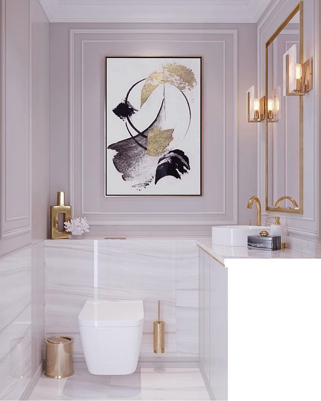 LOVE THIS MAGNIFIQUE BATHROOM WHICH FEELS SO ELEGA…