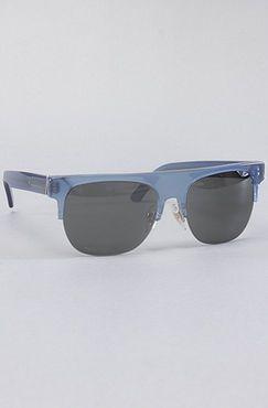 The Andrea Sunglasses in Dark Blue by Super Sunglasses - $167