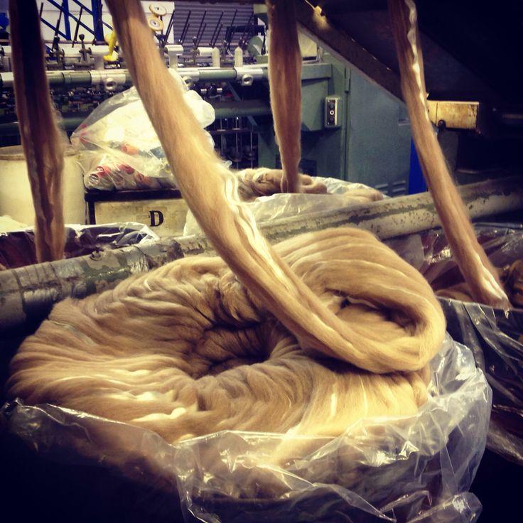 Alpaca supreme in the process by john Arbon textiles.
